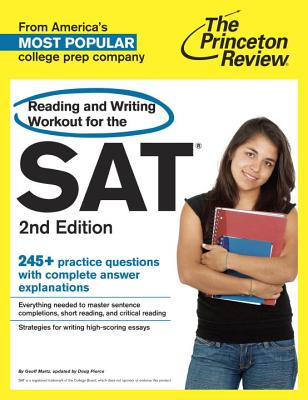 Reading and Writing Workout for the SAT By Princeton Review (COR)